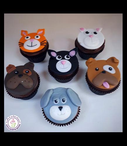 Dog Themed Cupcakes 04