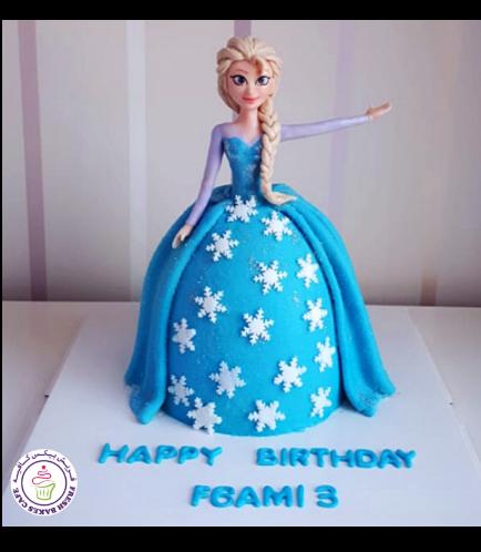 Frozen Themed Cake 32