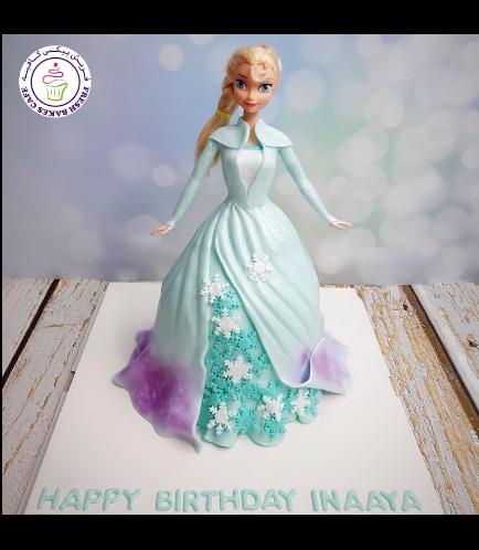 Cake - Doll Cake - Elsa 05