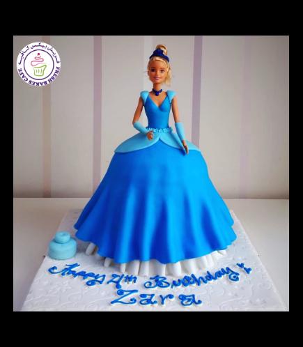 Cake - Cinderella - Toy