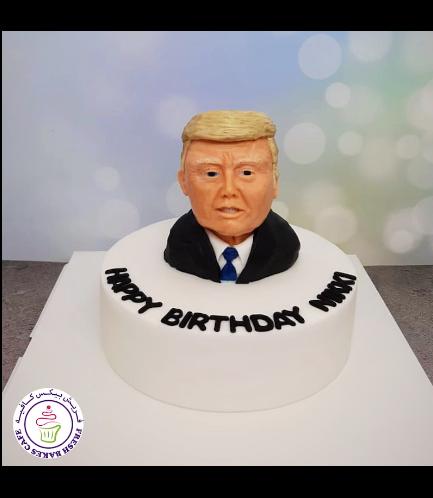 Donald Trump Themed Cake