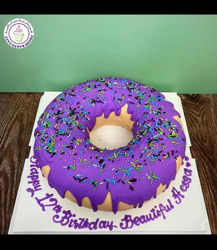 Donut Shaped Cake 04