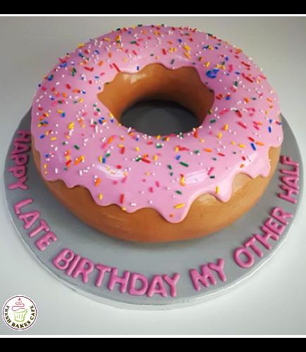 Donut Shaped Cake 02a