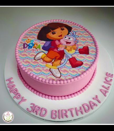 Dora the Explorer Themed Cake 07