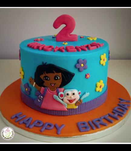 Cake - Picture - 2D Fondant - Front 01