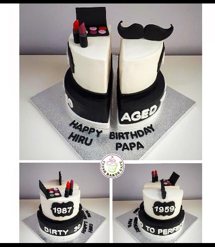 Cake - Makeup & Mustache