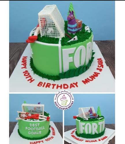 Cake - Football & Fortnite