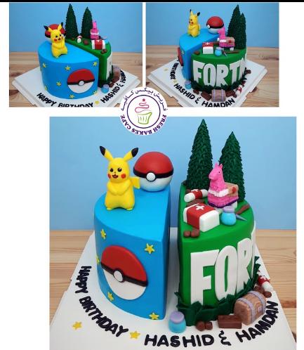 Cake - Pokemon & Fortnite