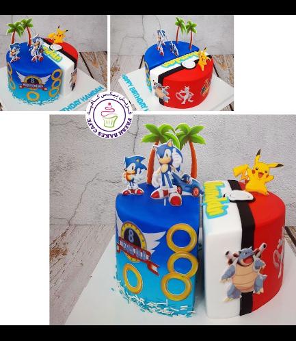 Cake - Sonic & Pokemon