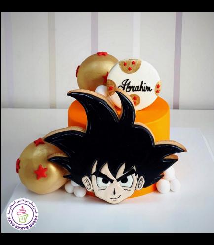 Dragon Ball Z Themed Cake