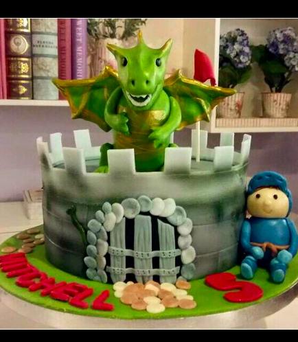 Dragon Themed Cake 01