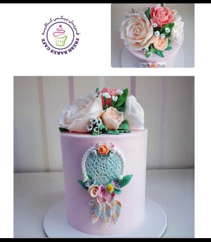 Dream Catcher Themed Cake 01