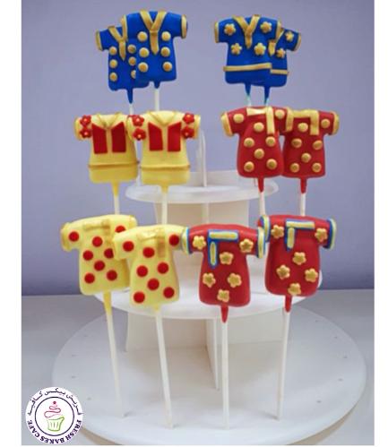 Eid Themed Cake Pops - Dresses