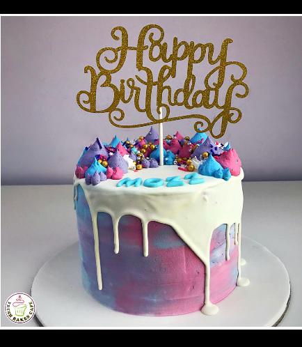 Cake - Cream Piping 01