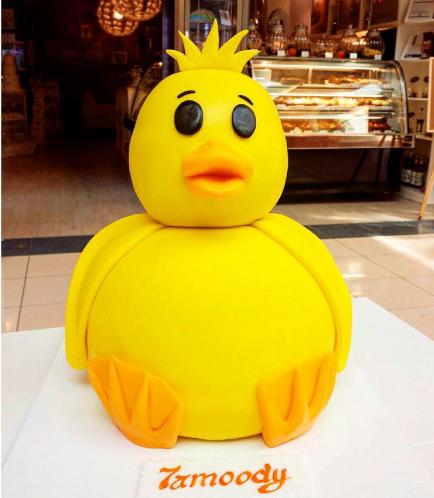 Duck Themed Cake - 3D Cake
