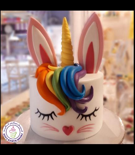Rabbit Themed Cake - Unicorn 01