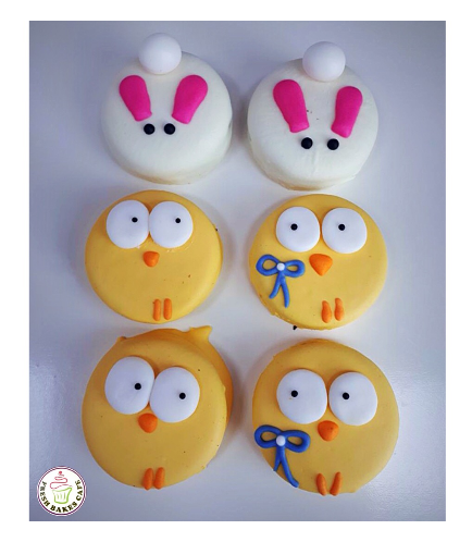 Chocolate Covered Oreos - Rabbits & Chicks