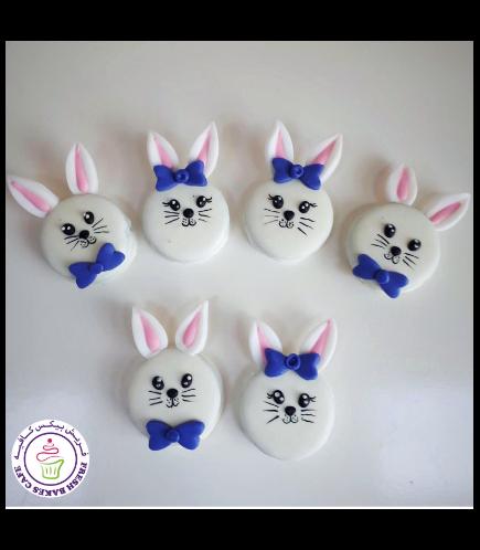 Rabbit Themed Chocolate Covered Oreos 03