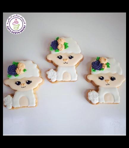Eid Al Adha Themed Cookies - Sheep - Front 03