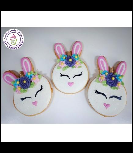 Rabbit Themed Cookies - Unicorn Rabbit 01a