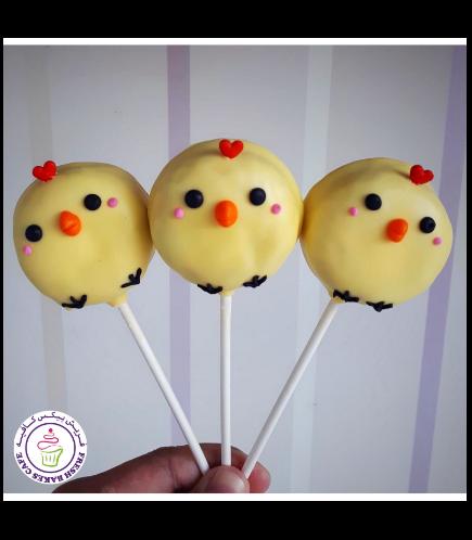 Easter Themed Donut Pops - Chicks
