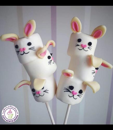 Rabbit Themed Marshmallow Pops 02