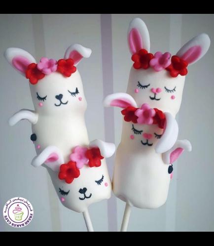 Rabbit Themed Marshmallow Pops 04