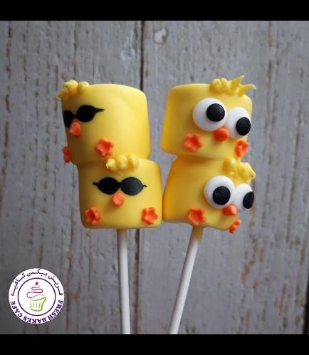 Easter Themed Marshmallow Pops - Chicks