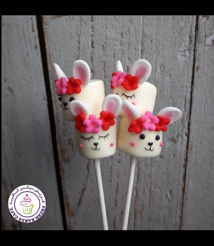 Easter Themed Marshmallow Pops - Rabbits - Girls 02