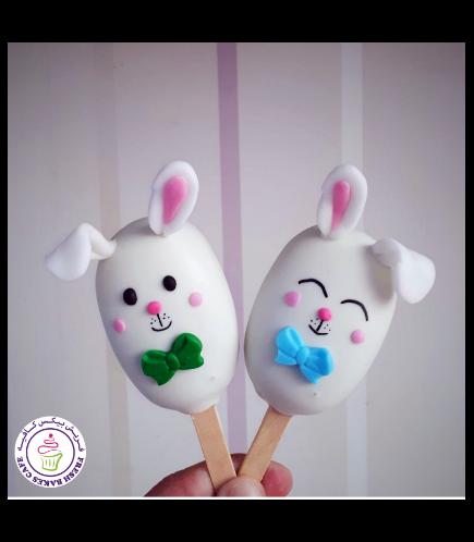 Rabbit Themed Popsicakes 01