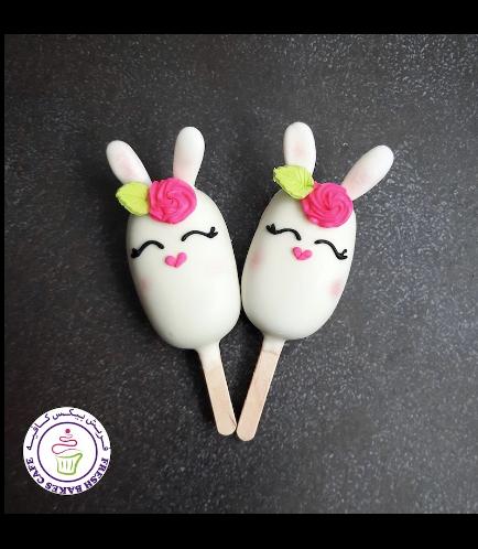 Easter Themed Popsicakes - Rabbits - Girls
