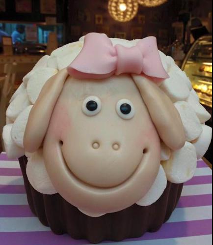Eid Al Adha Themed Cake - Sheep - Mega Cupcake