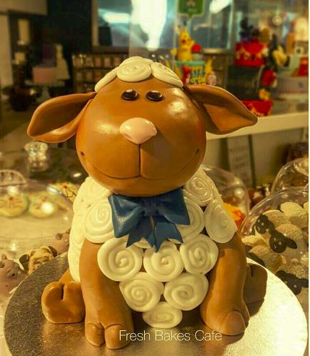 Eid Al Adha Themed Cake - Sheep - 3D Cake 04
