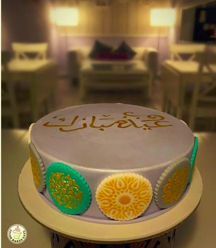 Eid Themed Cake - Stencils 01