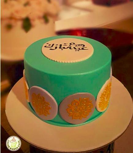 Eid Themed Cake - Stencils 02