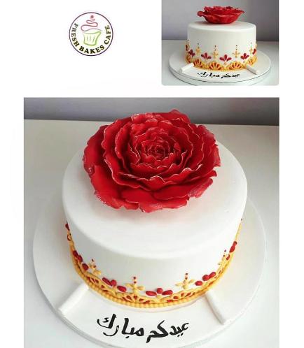 Eid Themed Cake - Rose 02
