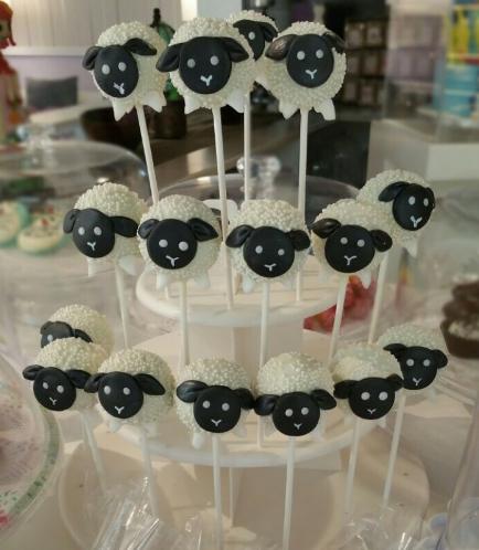 Sheep Themed Cake Pops 02