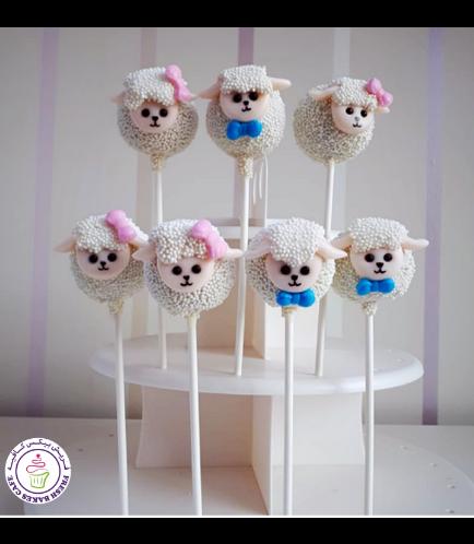 Sheep Themed Cake Pops 06