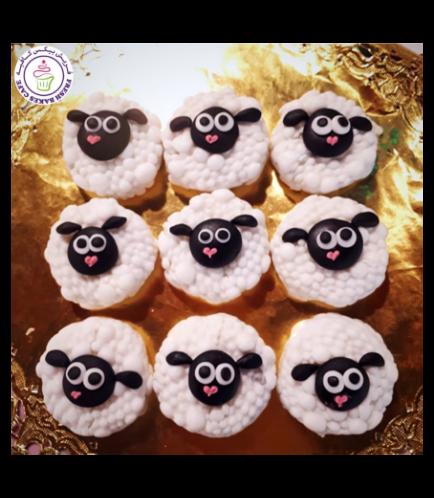 Sheep Themed Chocolate Covered Oreos 01
