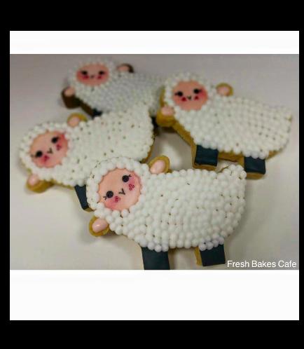 Eid Al Adha Themed Cookies - Sheep - Body - Side 01