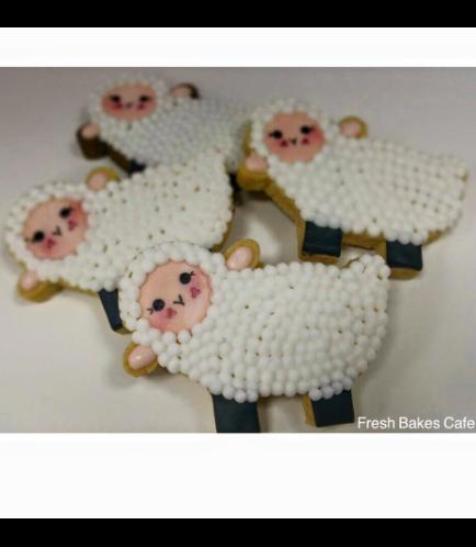 Sheep Themed Cookies 02