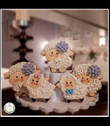 Eid Al Adha Themed Cookies - Sheep - Body - Side 02