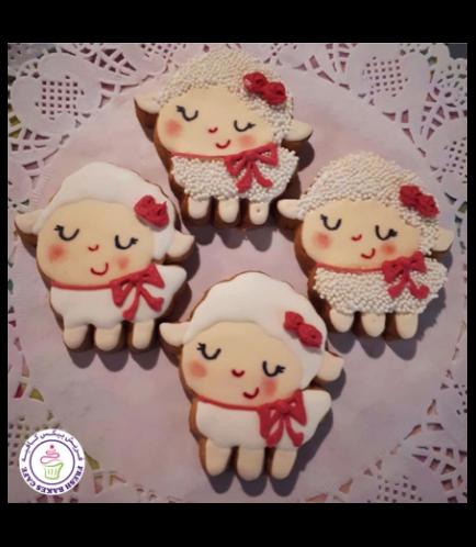 Eid Al Adha Themed Cookies - Sheep - Body - Side 03