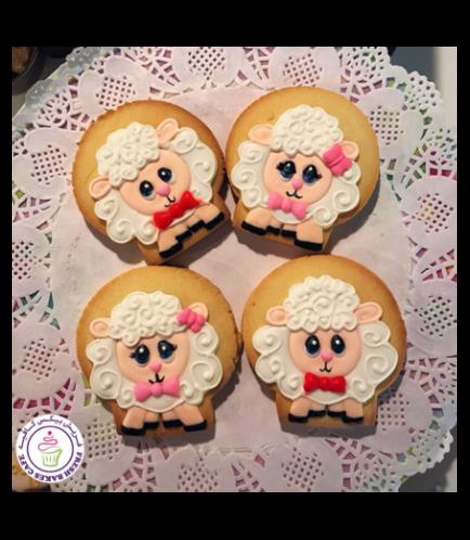 Eid Al Adha Themed Cookies - Sheep - Front 01