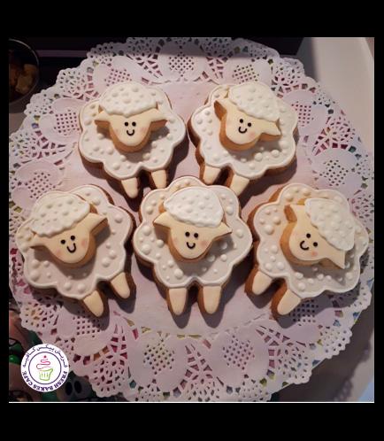 Eid Al Adha Themed Cookies - Sheep - Front 02