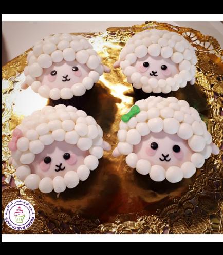 Sheep Themed Cupcakes 01
