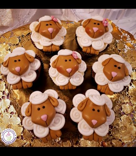 Sheep Themed Cupcakes 02