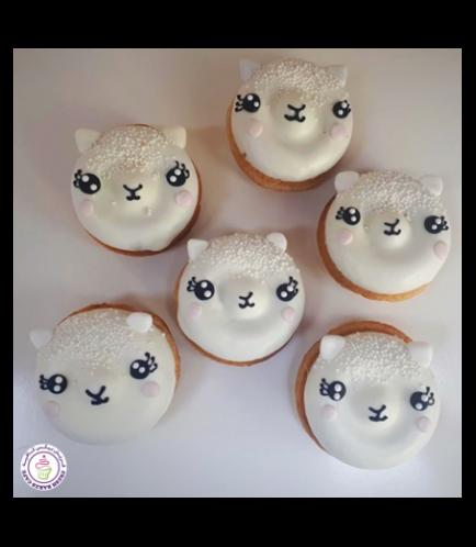 Eid Al Adha Themed Donuts - Sheep 01