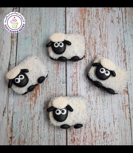 Eid Al Adha Themed Brownies - Sheep 01