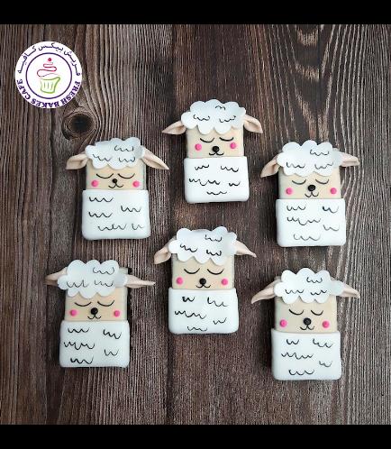 Eid Al Adha Themed Brownies - Sheep 02